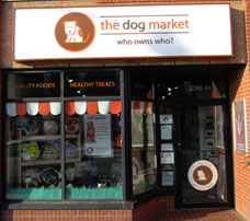 the dog market